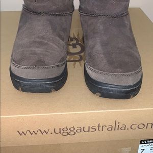 UGG Shoes - UGG Ultimate Cuff Boot 👢 in Chocolate, Size 7